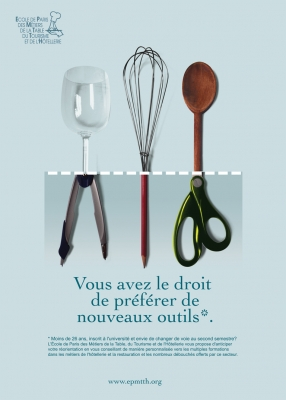 Affiches recrutement post-bac